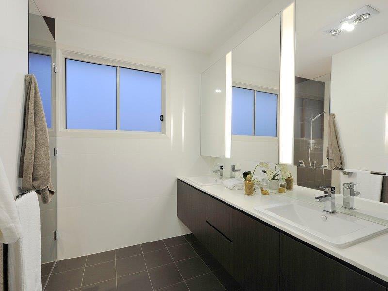 Custom-Vanities-Brisbane-Gold-Coast-Black-Cupboards-with-White-Vanity-Top