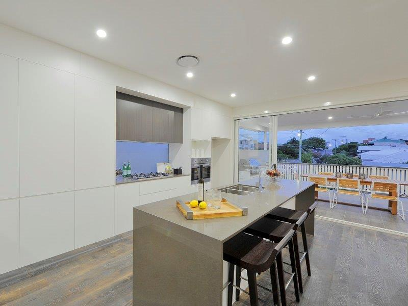Kitchens-Renovations-Brisbane-Concrete-Bench-Top-with-White-Cabinetry