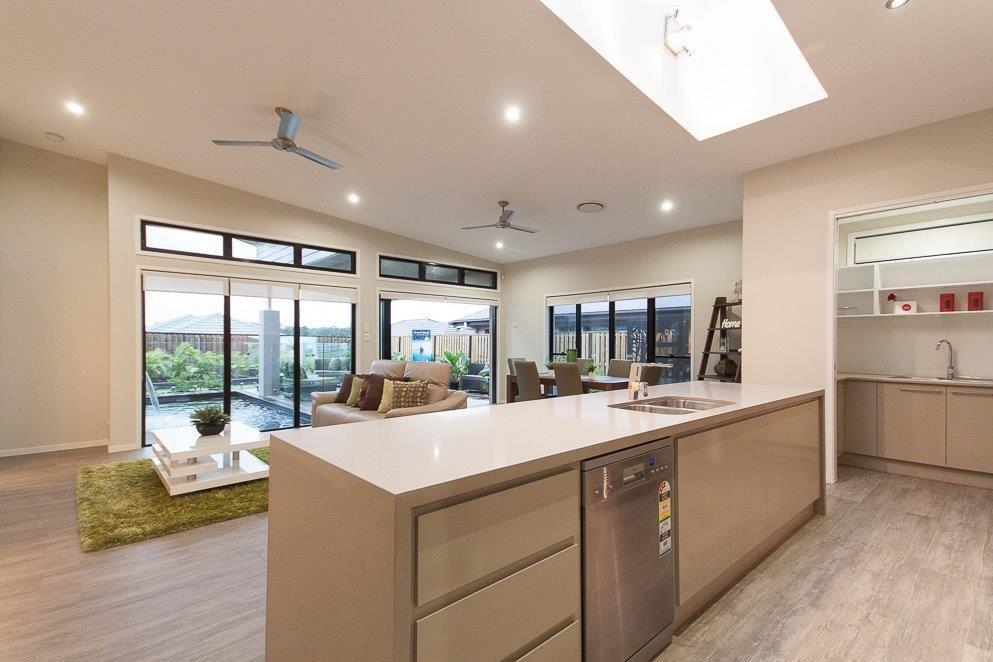 Kitchens-Renovations-Brisbane-Tan-Modern-Kitchen