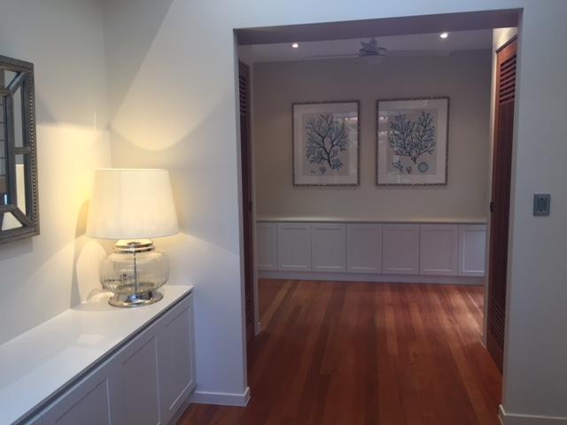 Custom-joinery-entry-foyer-profile-doors-Brisbane-Gold-Coast