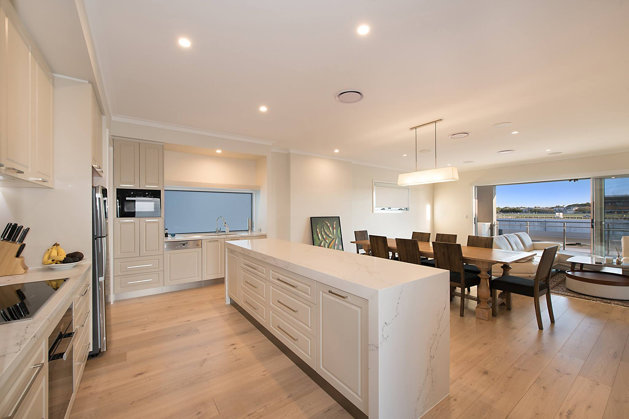 Custom-kitchen-stone-profile-doors-Brisbane-Gold-Coast