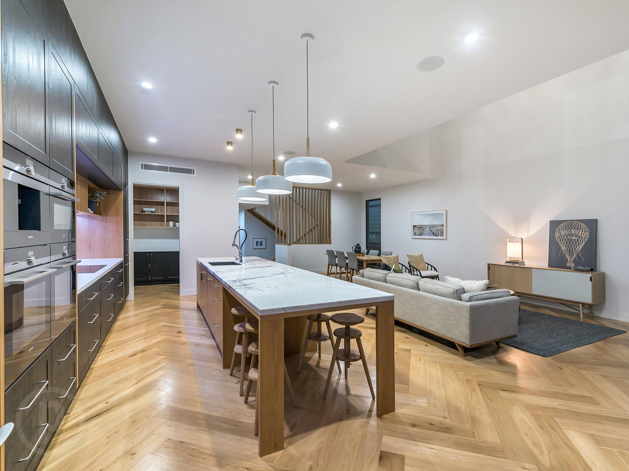 Custom-kitchen-Miele-appliances-timber-floors-Brisbane-Gold-Coast