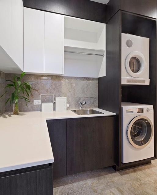 Custom laundry cabinets cupboards brisbane gold coast for Kitchen cabinets gold coast