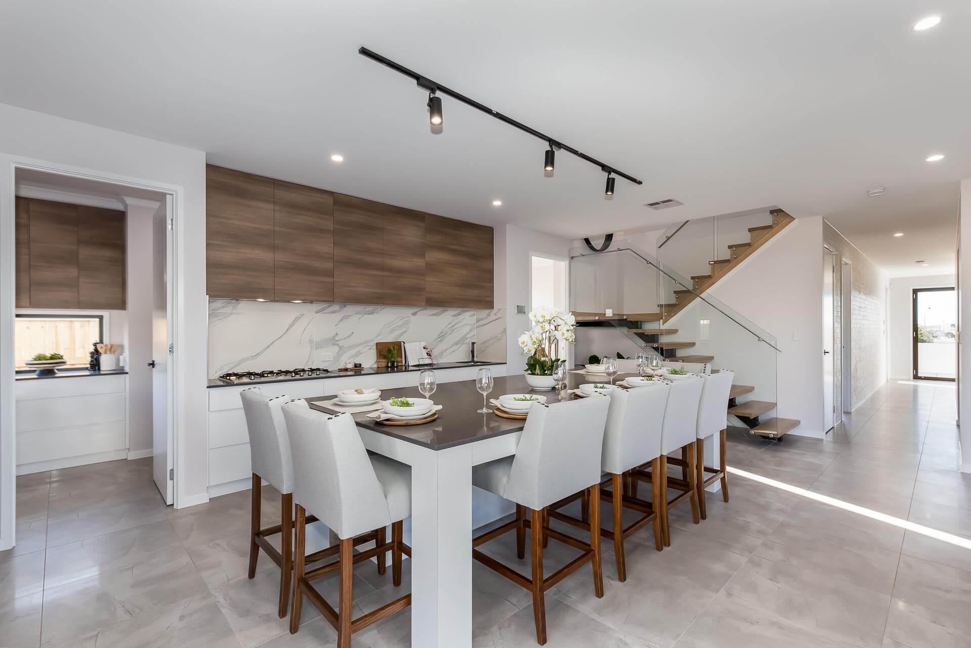 Pantha Kitchen Caloundra marble splashback