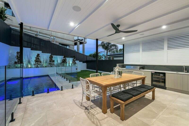 Custom Outdoor Kitchen Louvres Brisbane Gold Coast