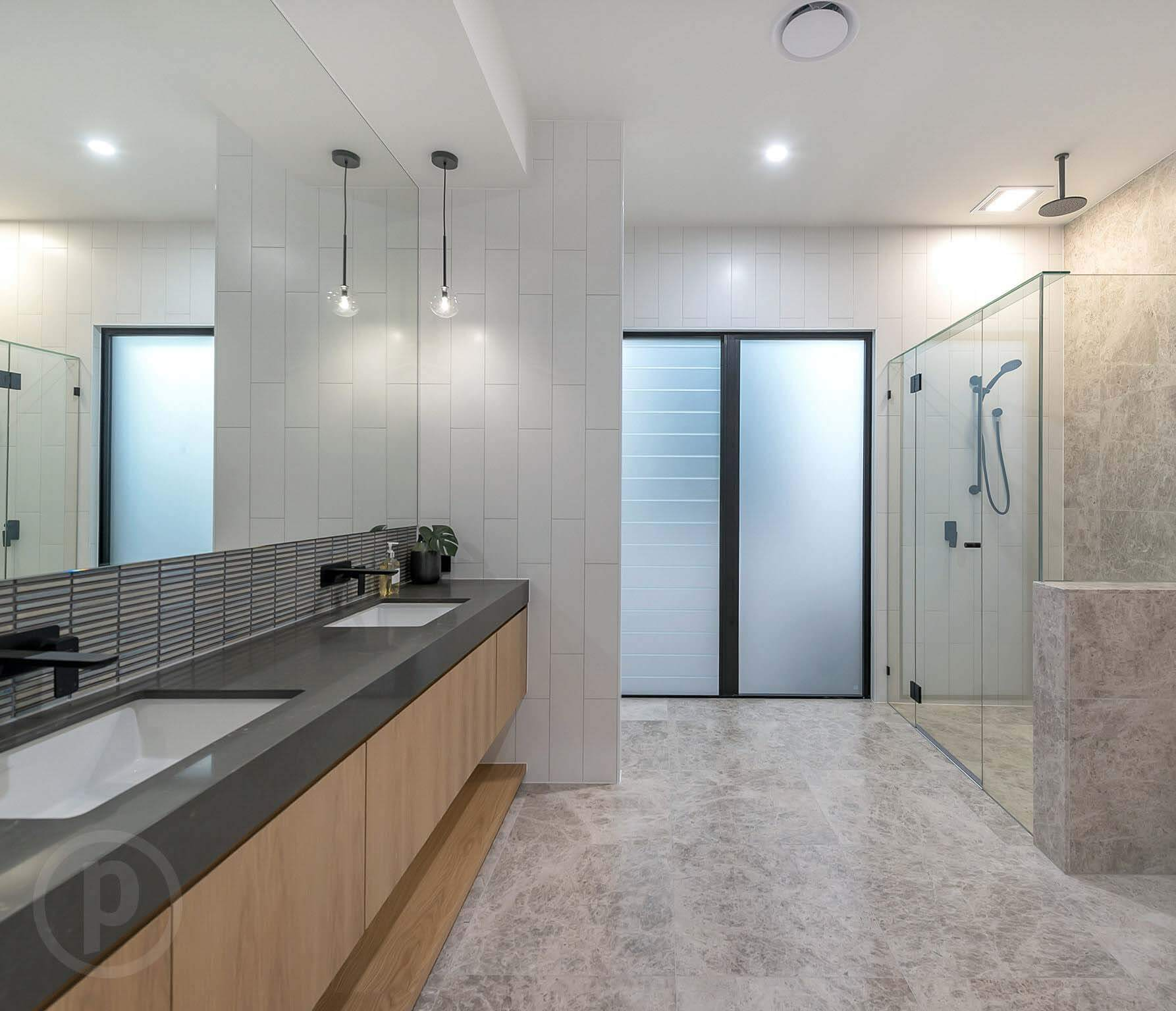 Custom vanity stone top luxury Brisbane Gold Coast
