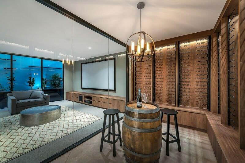 Custom wine cellar Brisbane Gold Coast