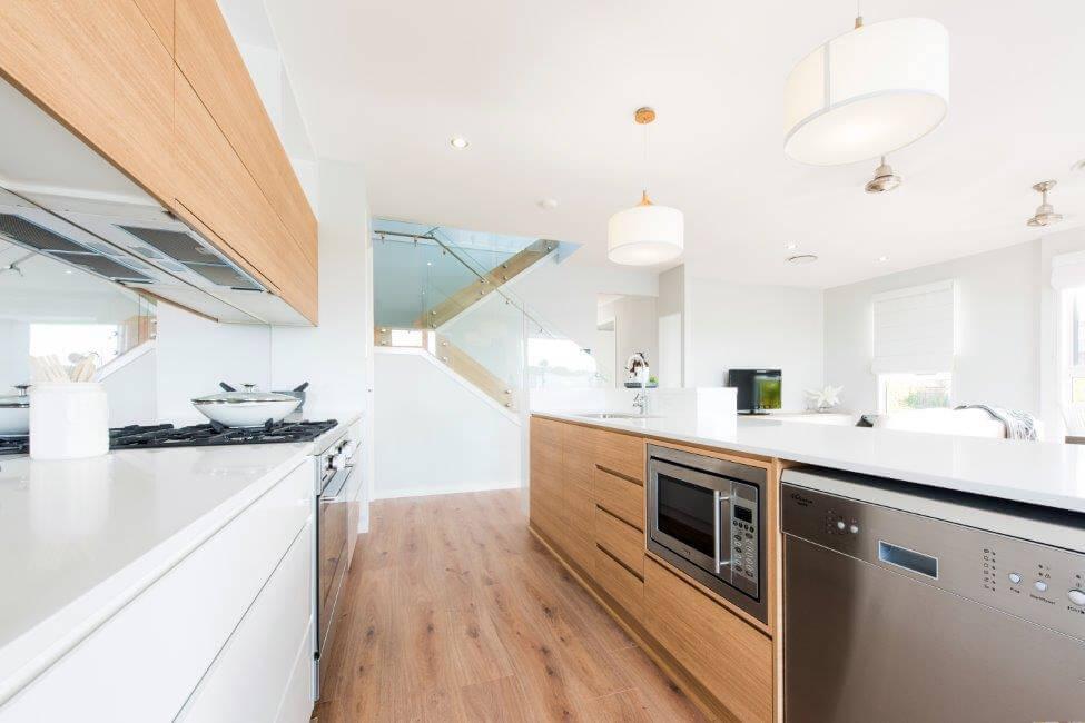 Modern Kitchen shadowline construction Imperial Kitchens